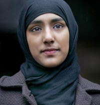 Bangladeshi Muslim schoolgirl Begum leaves court in London after winning the right to wear full Islamic dress at school